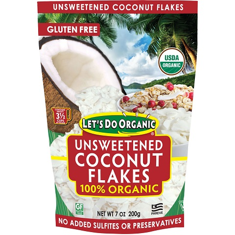 E&S Unsweetened Coconut Flakes SMALL