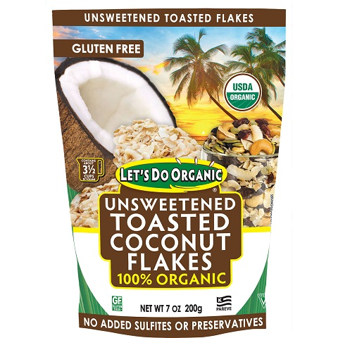 E&S Unsweetened Toasted Coconut Flakes SMALL